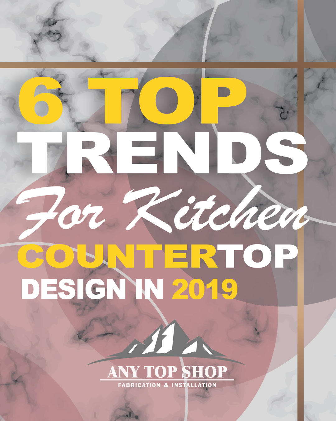 6 Top Trends For Kitchen Countertop Design In 2019