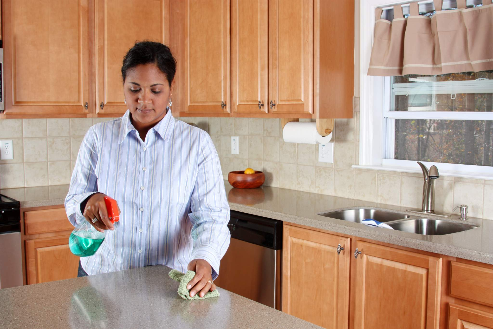 Cleaning and Disinfecting Granite Countertops