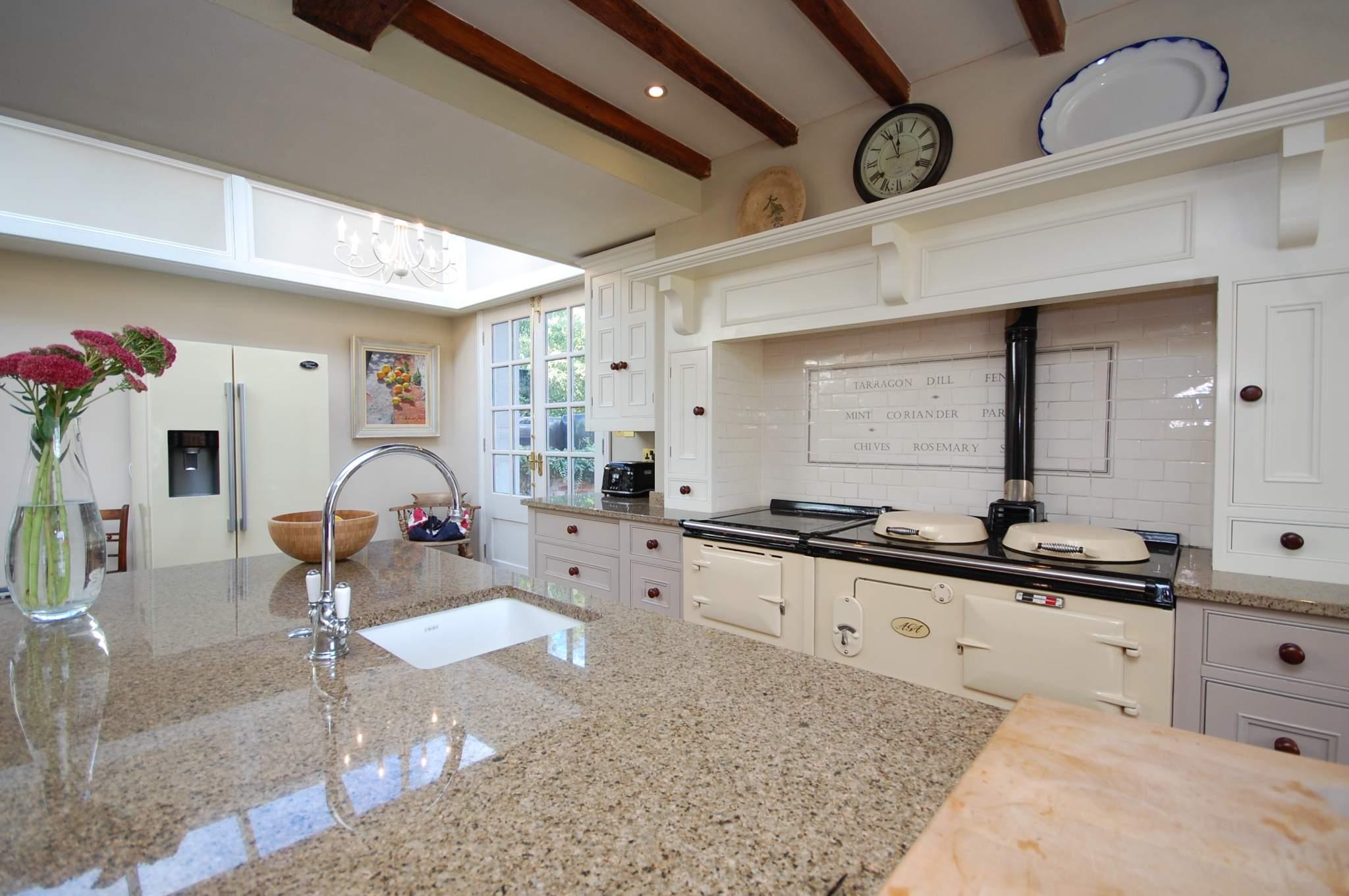 granite countertops sustainable kitchen