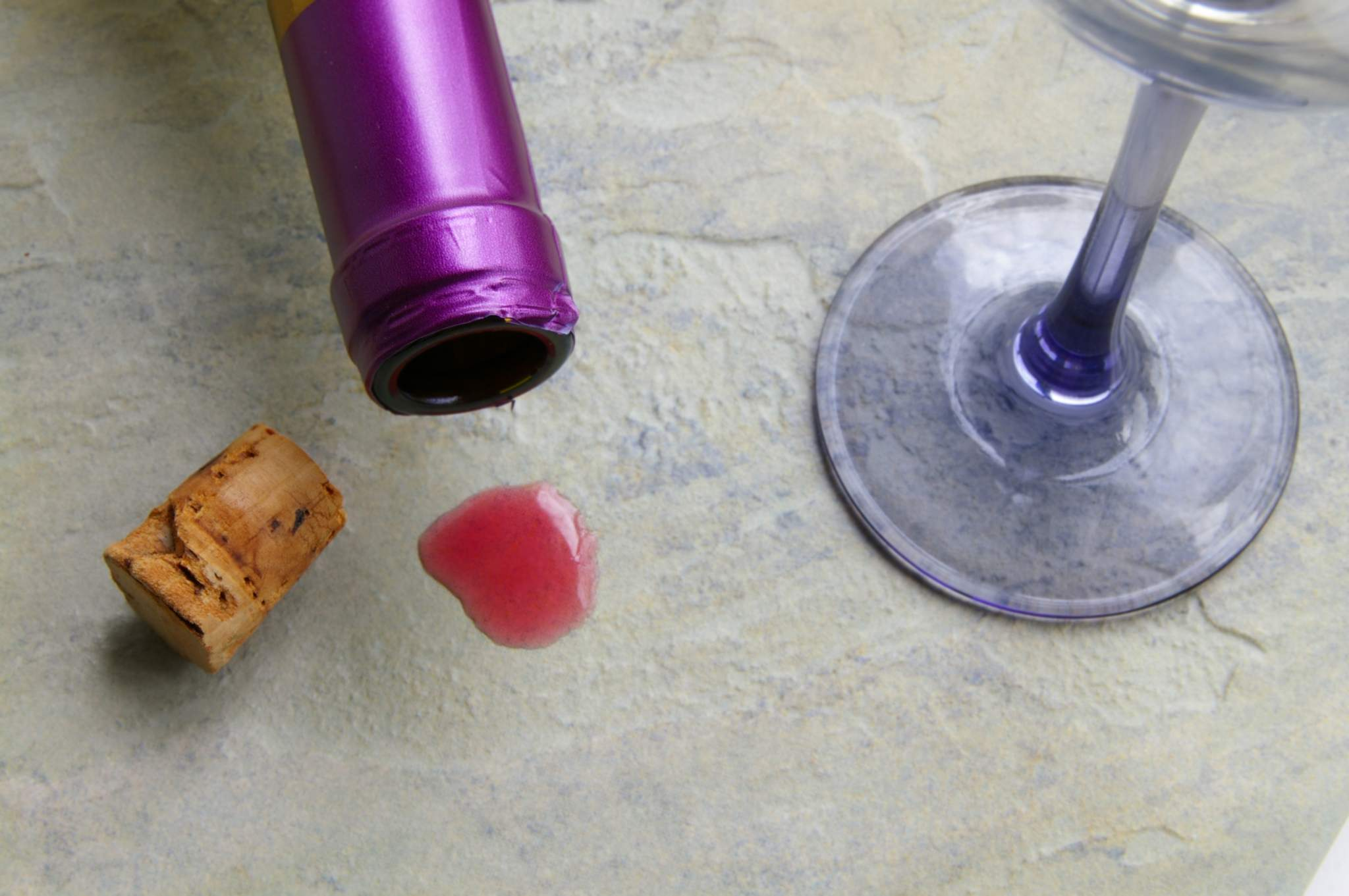 remove stains from granite