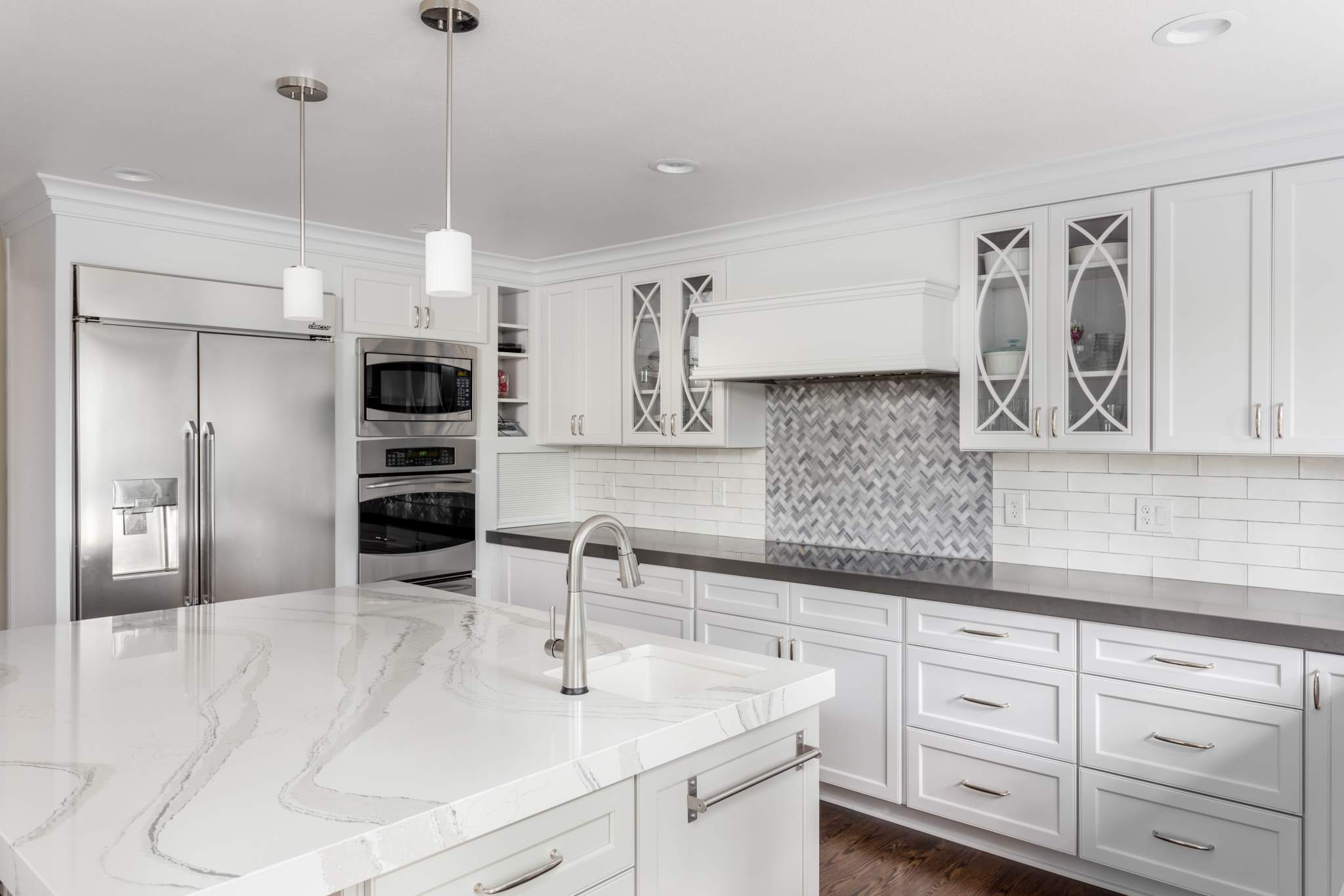 sustainable kitchen quartz countertops