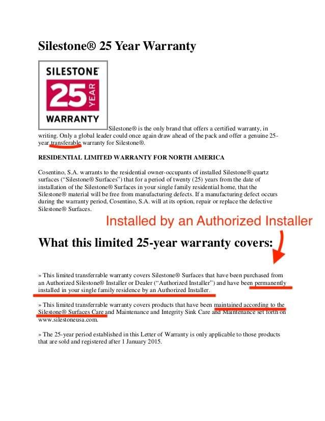quartz warranty