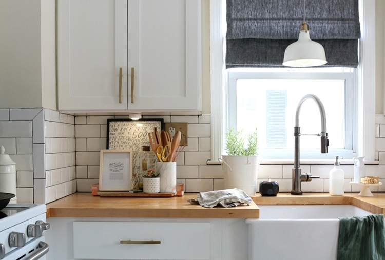plywood countertops sustainable kitchen