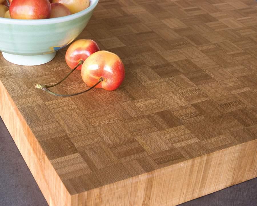 bamboo countertops sustainable kitchen