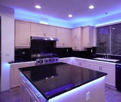 sustainable kitchen lighting